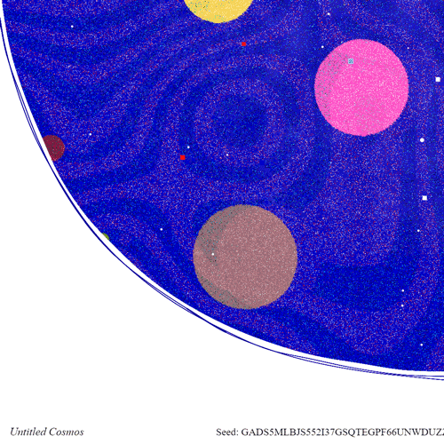 Untitled Cosmos Closeup